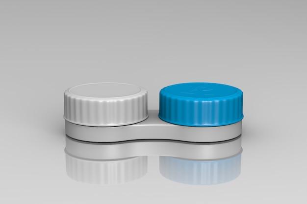 Contenedor de lentes de contacto