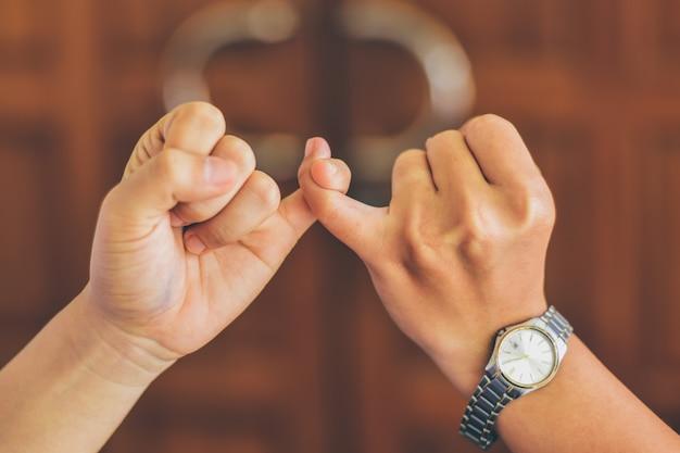 Cooperación, acuerdo, relación.