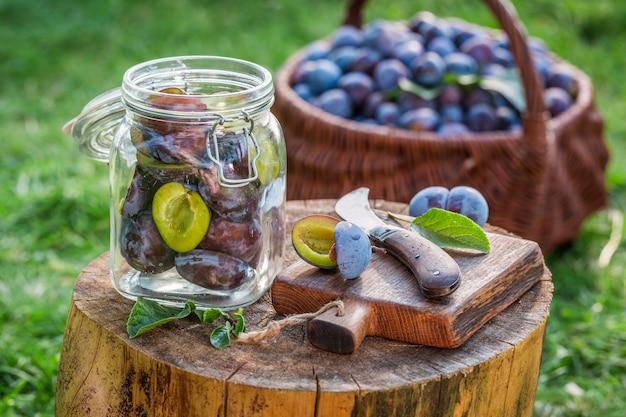 Copa de vino y uvas
