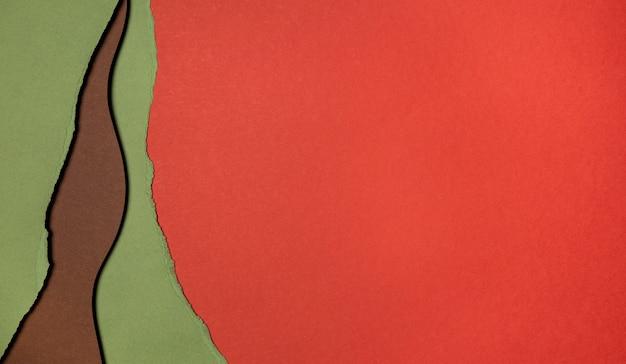 Copiar capas espaciales de papel