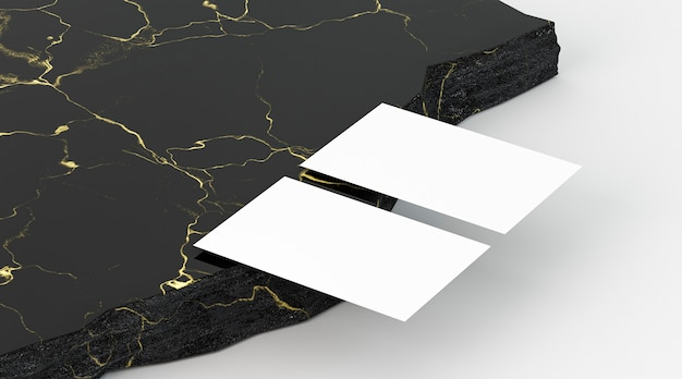 Copiar documentos de tarjeta de visita de papelería de espacio