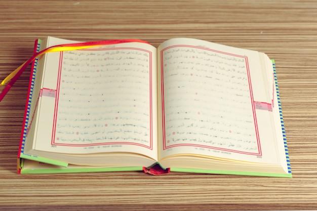 Corán - libro sagrado de los musulmanes