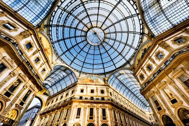 En el corazón de milán, italia.