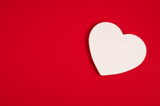 Corazón en rojo