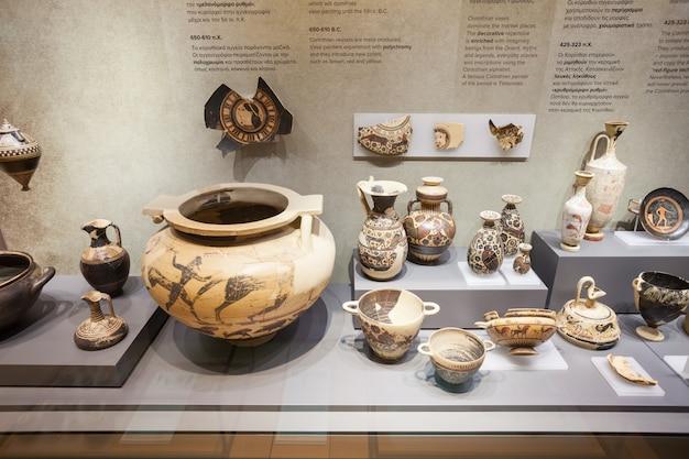 Corinto antiguo en grecia