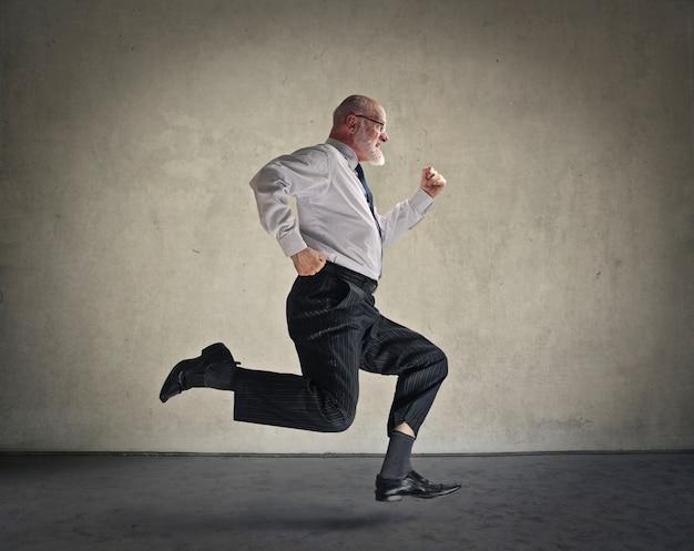 Corriendo para el exito