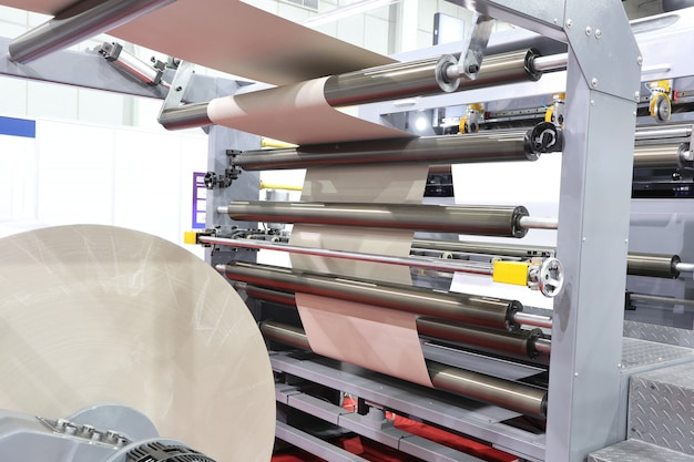 Cortadora de papel moderna
