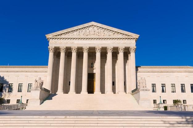 Corte suprema de los estados unidos construyendo washington
