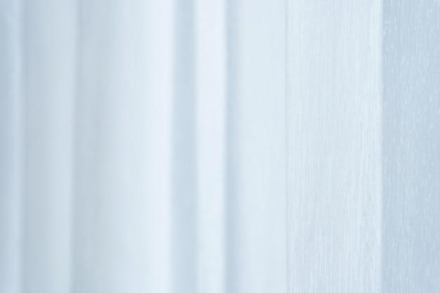 Cortina transparente que dispersa la luz. textura de la tela