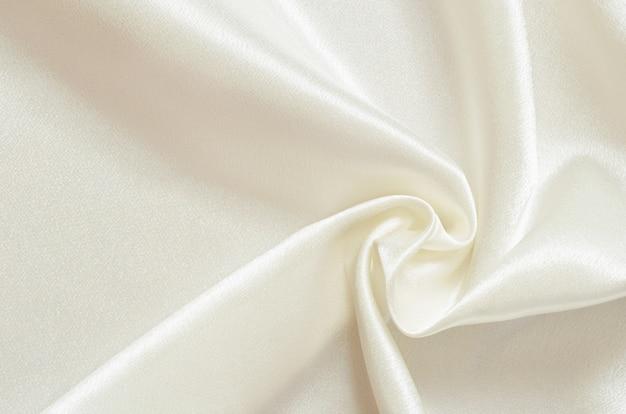 Cortinas de raso blanco