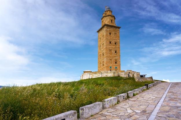 La coruña torre hércules galicia españa