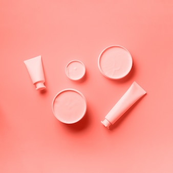 Cosmética, cuidado de la piel, belleza, concepto de tratamiento corporal.