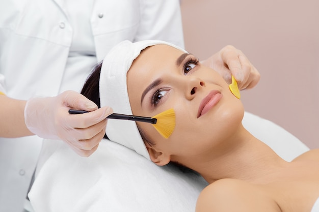 Cosmetología. clínica de spa.