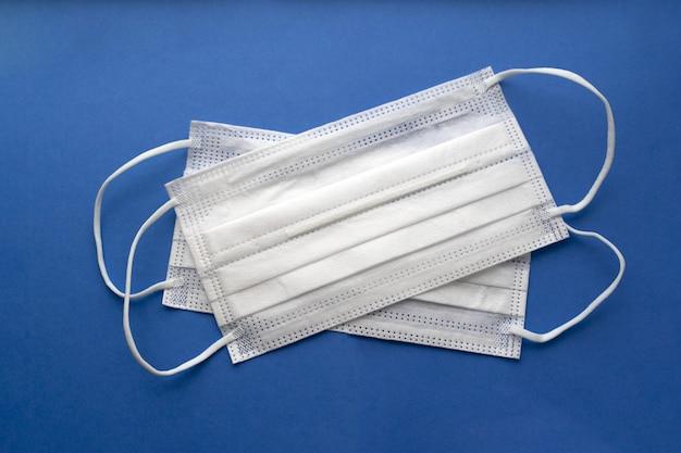 Covid-19. máscaras médicas para protección.