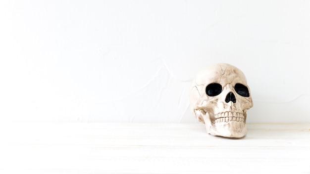 Cráneo espeluznante para halloween