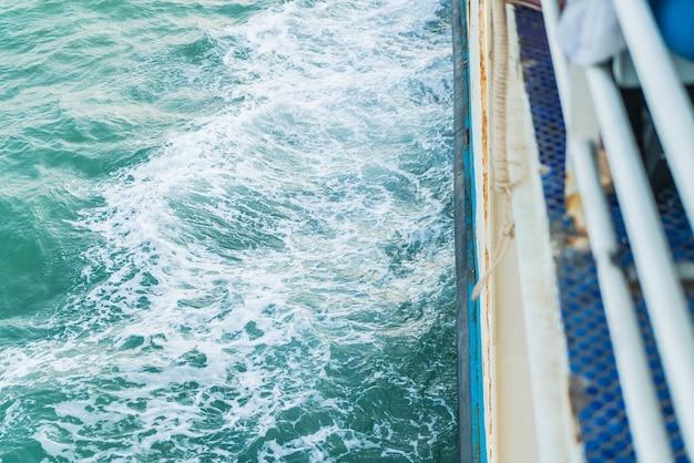 Crashing de la ola del océano