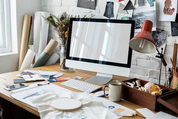 Creativo diseño vestido moda tendencia concepto con estilo
