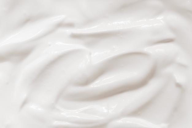 Crema agria, textura de yogurt