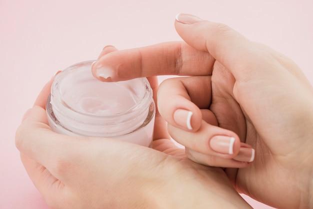 Crema para el cuidado de la piel
