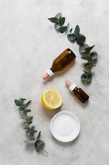 Crema y limón para una mente sana y relajada