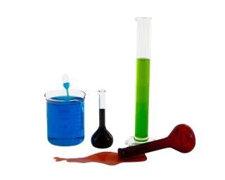 Cristalería química