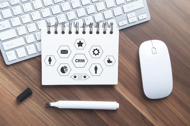 Crm - gestión de la relación con el cliente. negocio