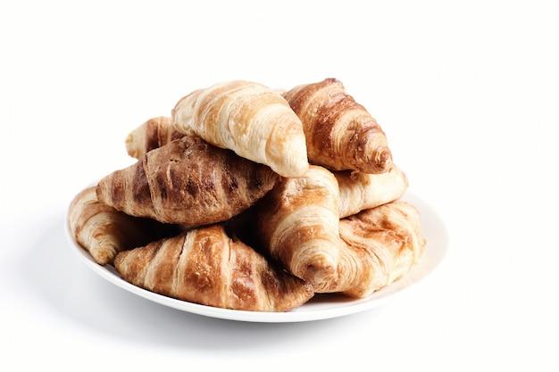 Croissant recién horneado