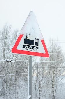 Cruce ferroviario sin barrera
