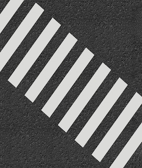 Cruce de peatones estilo minimalista 3d