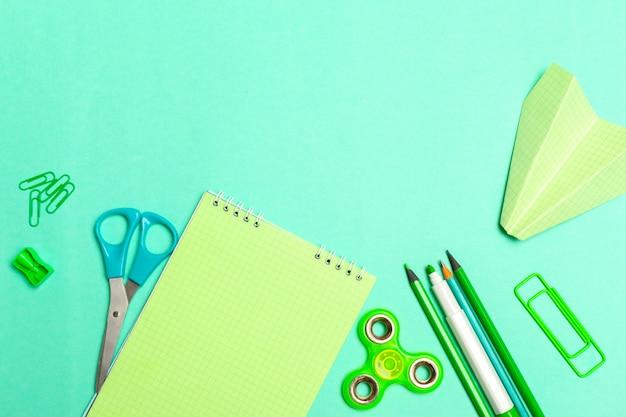 Cuaderno espiral en azul