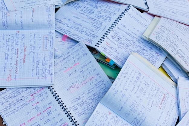 Cuaderno matemático negro