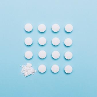 Cuadrado de tabletas