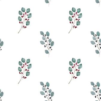 Cuadro brillante con la imagen de plantas pintadas. pintura de acuarela