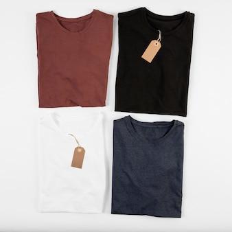 Cuatro camisetas