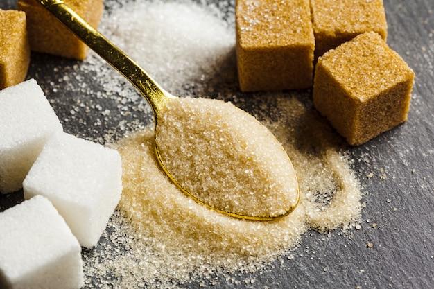 De cubitos de azucar