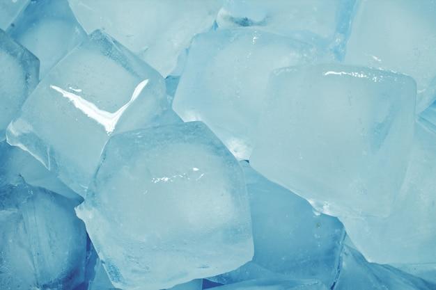 Cubitos de hielo abstractos de hielo