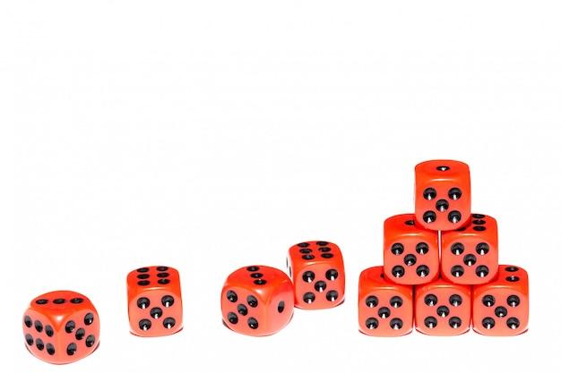 Cubos para juegos de mesa