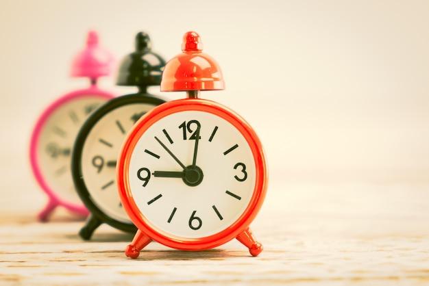 Cuenta regresiva del temporizador tabla minutos analógico