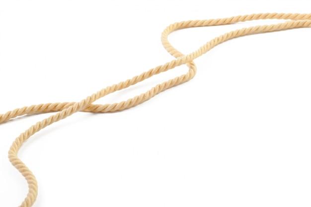 Cuerda de algodon beige