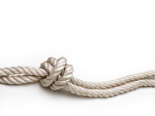 Cuerda con un nudo