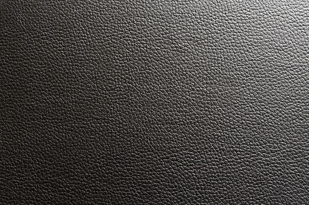 Cuero negro y textura de fondo