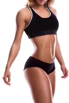Cuerpo de mujer fitness