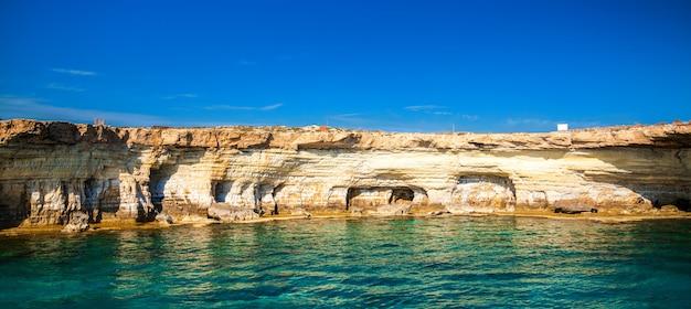 Cuevas marinas en cabo greco