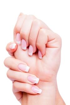 Cuidado de la sensualidad mujer uñas