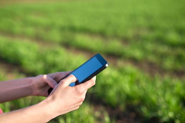 Cultivo de cultivos con tecnologías modernas
