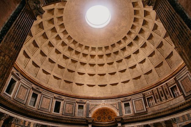 Cúpula del panteón en roma.