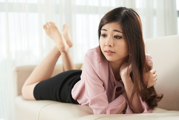 Dama pensativa
