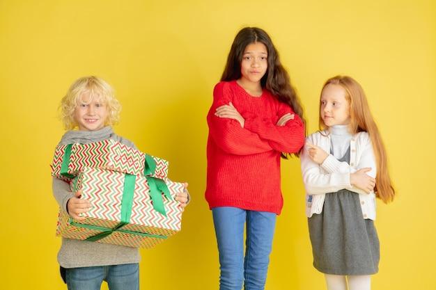 Dar y recibir regalos en navidad