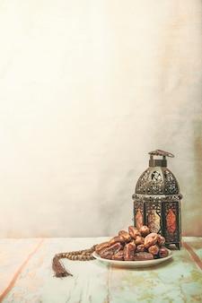 Datilera o kurma, comida de ramadán