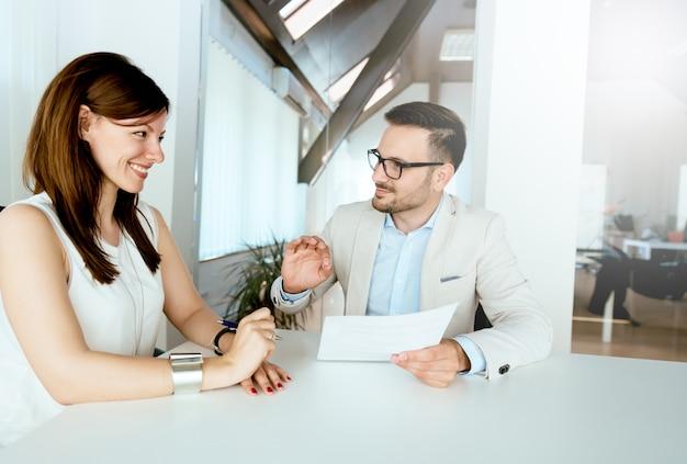 La decisión perfecta. gran retroalimentación en la entrevista. gran consulta.